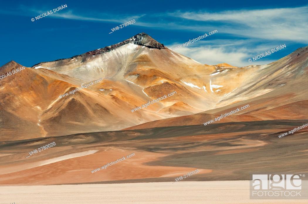 Stock Photo: Nevado Tres Cruces National Park, Region III of Atacama, Chile, South America.