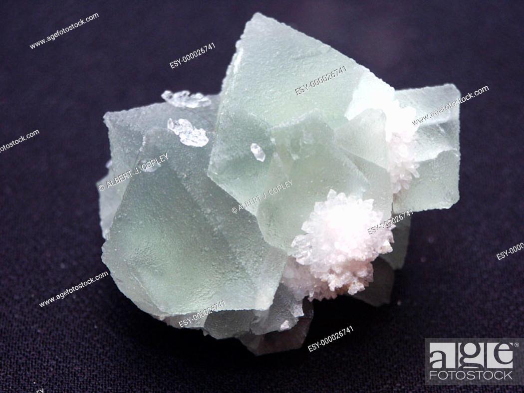 Stock Photo: Fluorite Homestake Mine. Arizona. USA.