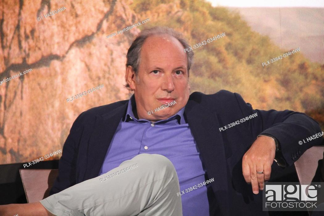 """Stock Photo: Hans Zimmer 07/10/2019 """"""""The Lion King"""""""" Press Conference held at the Montage Beverly Hills Luxury Hotel in Beverly Hills, CA. Photo by I."""