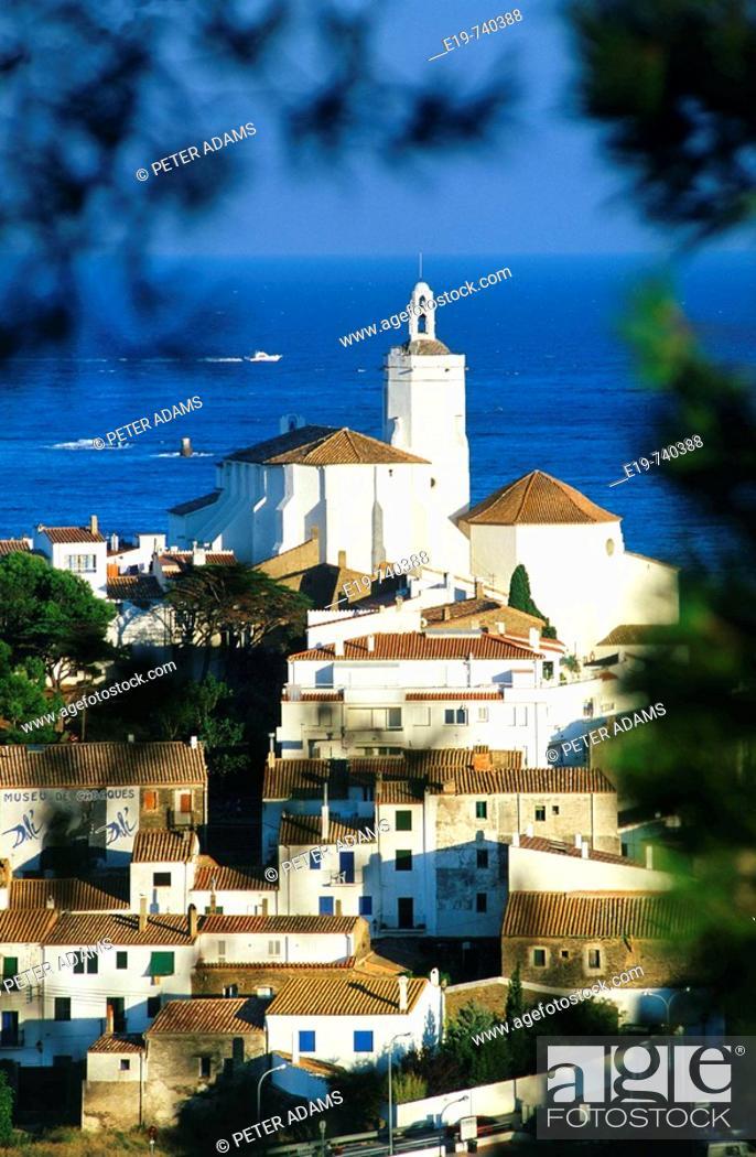 Stock Photo: Cadaqués, Girona province, Catalonia, Spain.