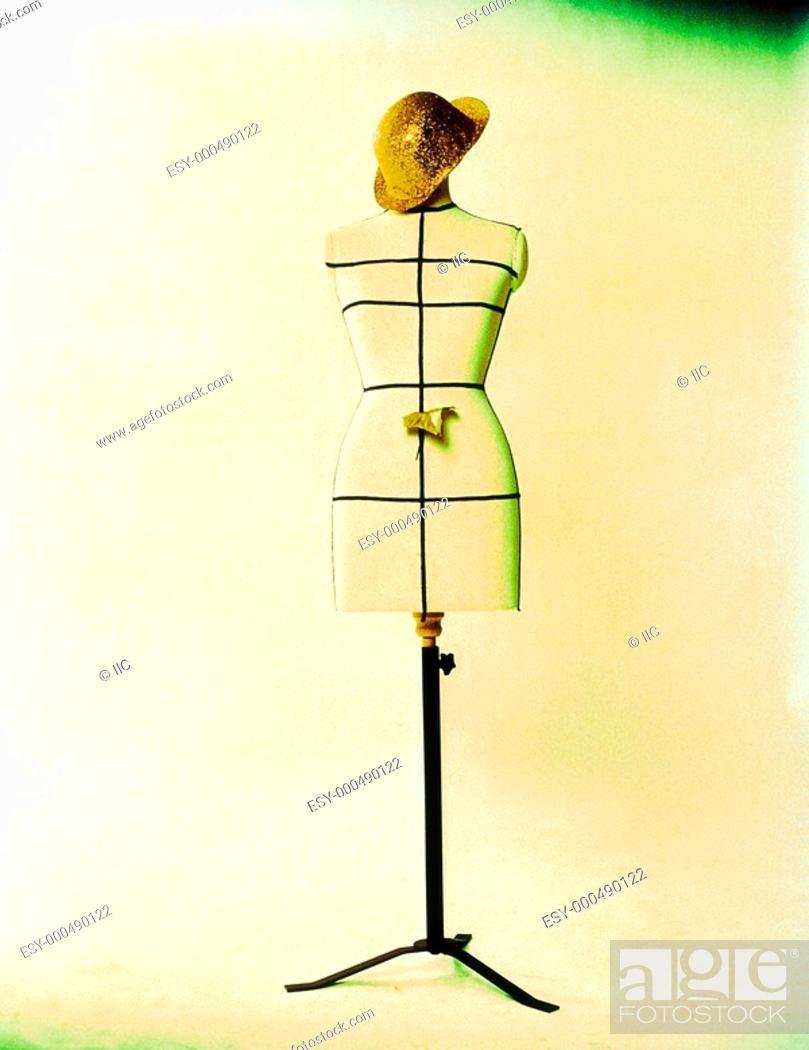 Stock Photo: Ireland, Dressmaker's dummy.