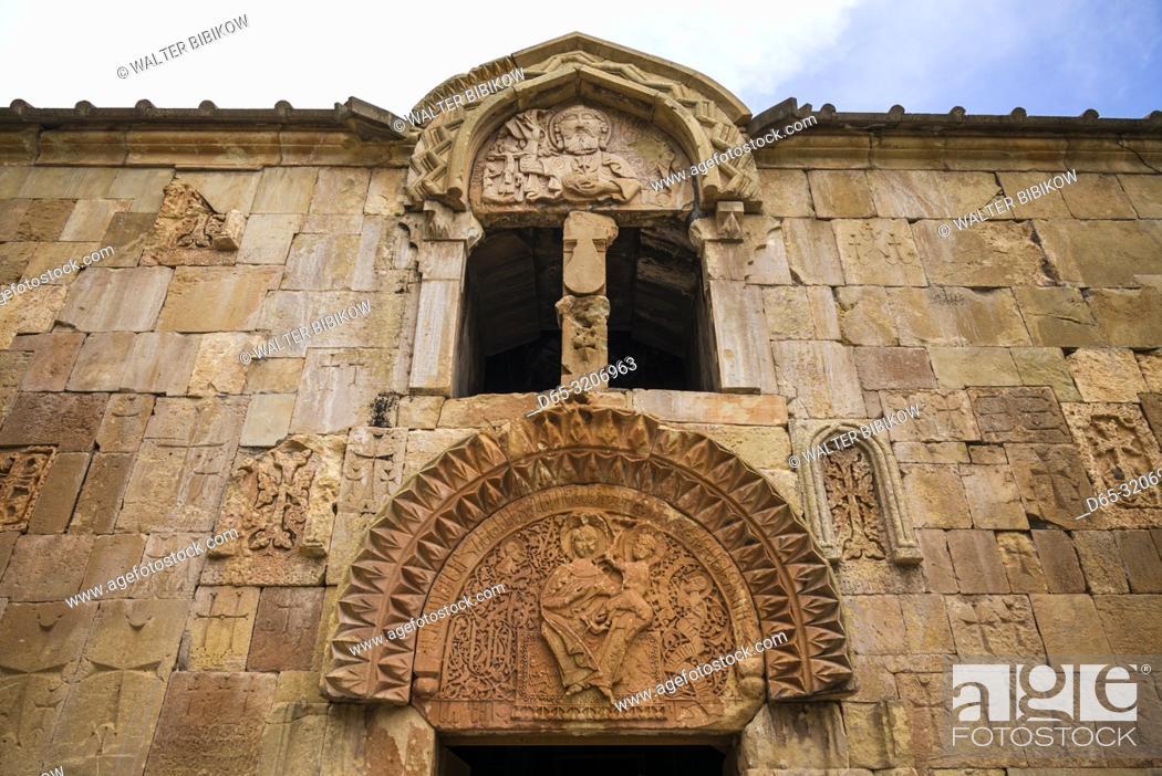 Imagen: Armenia, Noravank, Noravank Monastery, 12th century, detail.