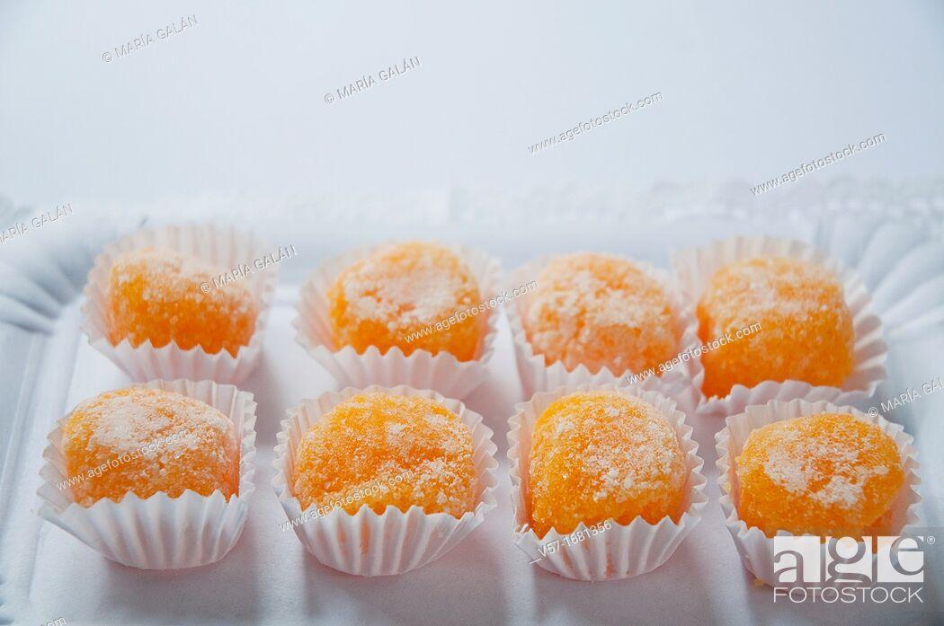 Stock Photo: Santa Teresa yolks. Avila, Castilla Leon, Spain.