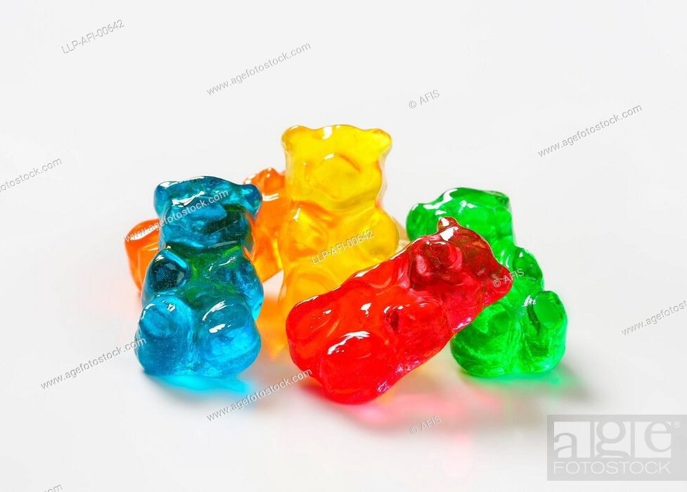 Stock Photo: Gummy bears.