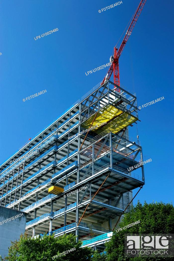 Stock Photo: Steel Structure.