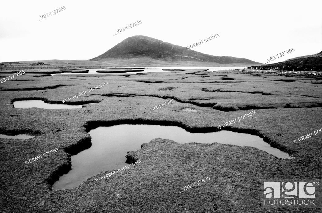 Stock Photo: Landscape, Isle of Harris, Scotland.