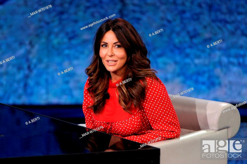 Sabrina Ferilli Milano 17 09 2018 Stock Photo Picture And Rights Managed Image Pic Mar W701878 Agefotostock