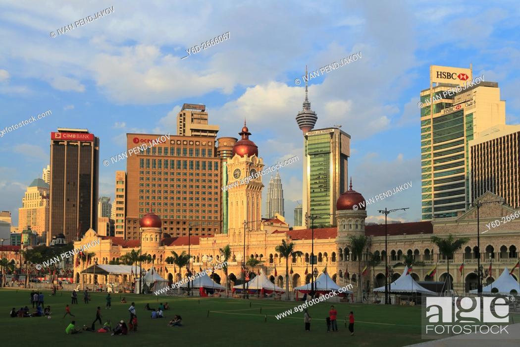 Imagen: Merdeka Square, Kuala Lumpur, Malaysia.