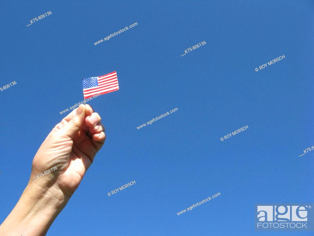 Stock Photo: Patriotism.