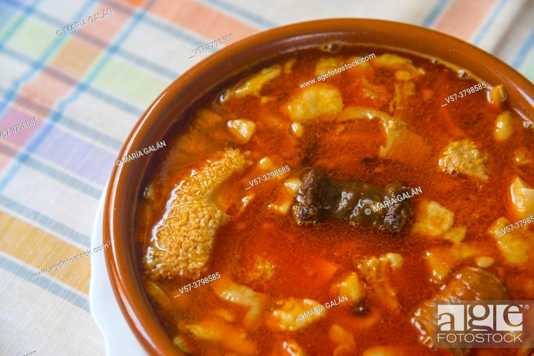 Stock Photo: Callos a la Madrileña. Madrid, Spain.
