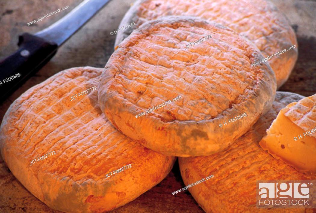 Stock Photo: France, Corsica, France, Corsica, Corsican cheese.