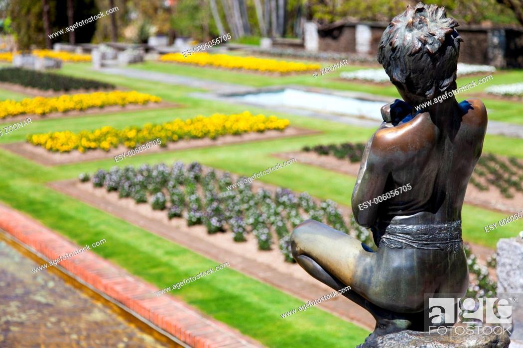 Stock Photo: Villa Taranto garden.