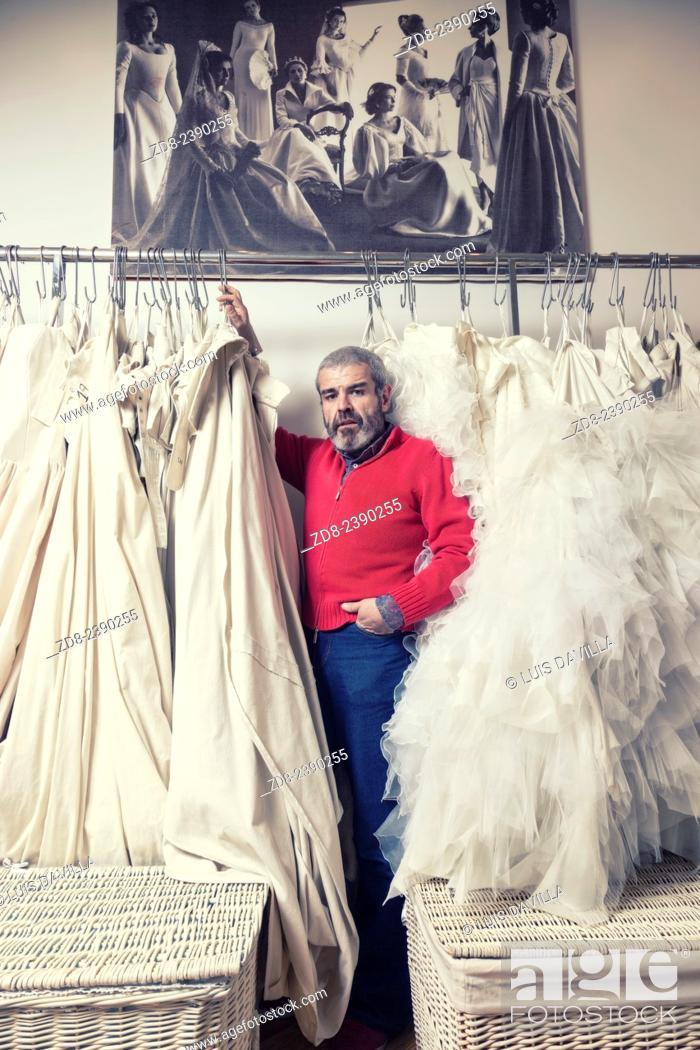 Spanish Clothing Designers | Lorenzo Caprile Spanish Fashion Designer Stock Photo Picture And