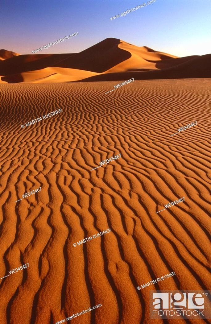 Stock Photo: Grand Erg Oriental, Sahara. Algeria.