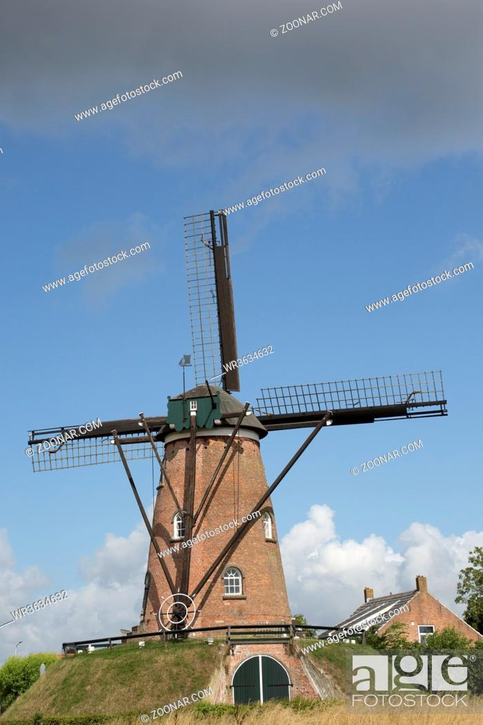 Photo de stock: Windmühle.