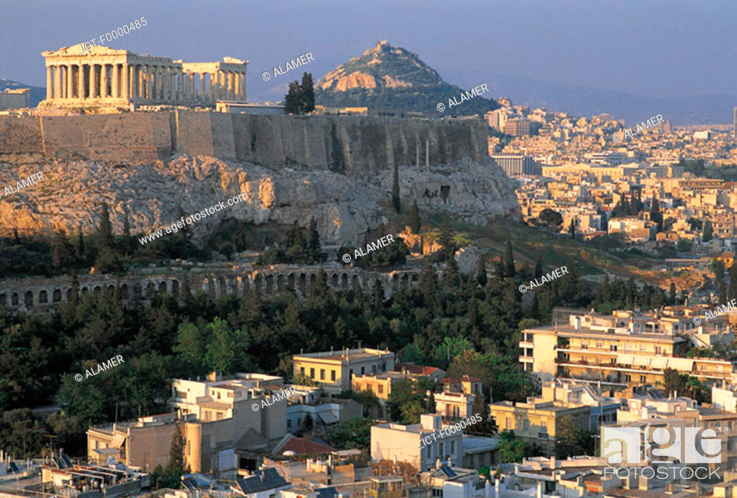 Stock Photo: Athens, Acropolis.