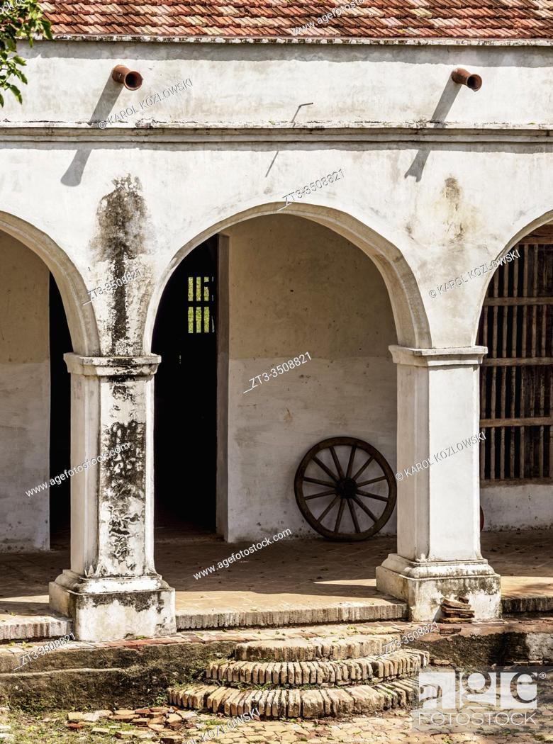 Stock Photo: San Isidro de los Destiladeros Estate, Valle de los Ingenios, UNESCO World Heritage Site, Sancti Spiritus Province, Cuba.