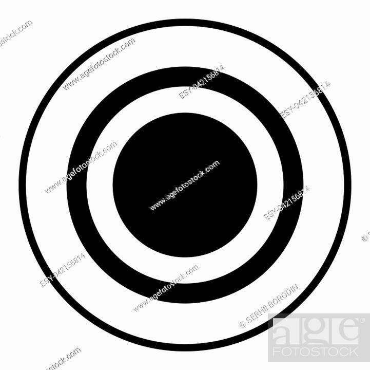 Stock Vector: Radio signal symbol connect icon black color vector illustration flat style simple image.