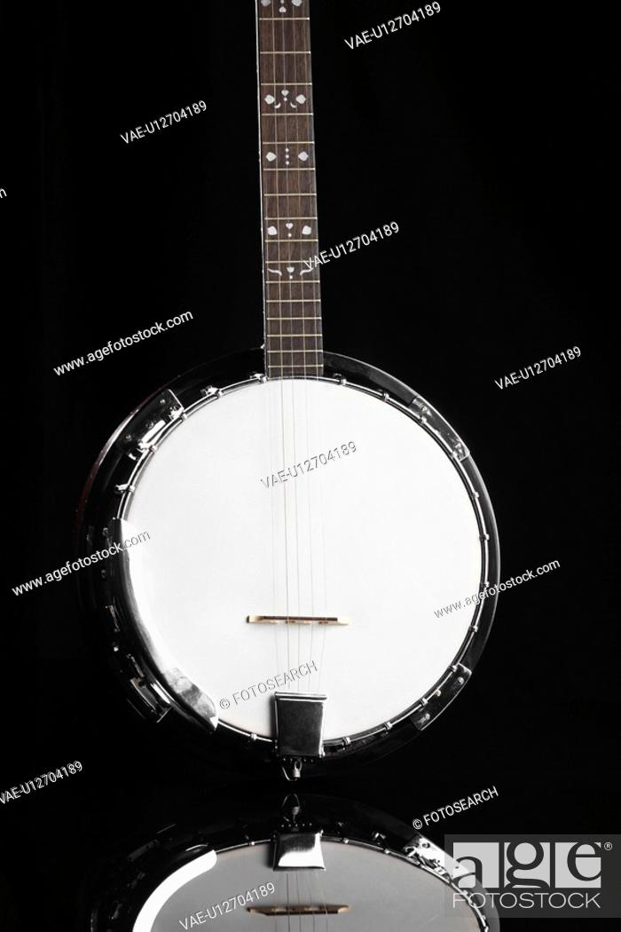 Stock Photo: Single banjo.