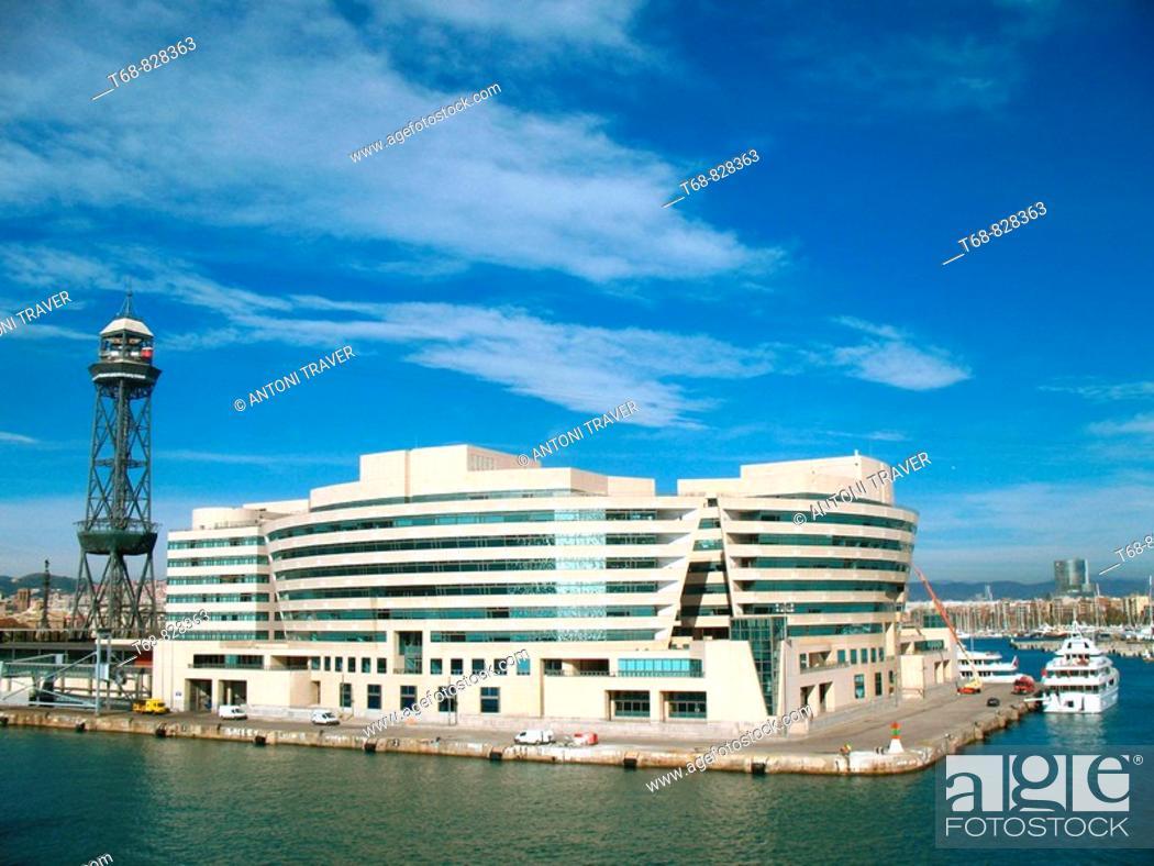 Stock Photo: World Trade Center, Barcelona. Catalonia, Spain.