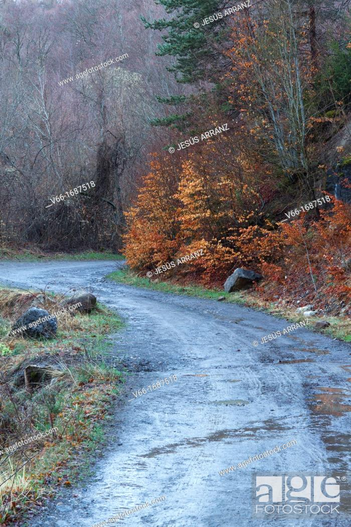 Imagen: Road Piedrafita de Jaca Jaca Tramacastilla by him Gorgol Baranco.