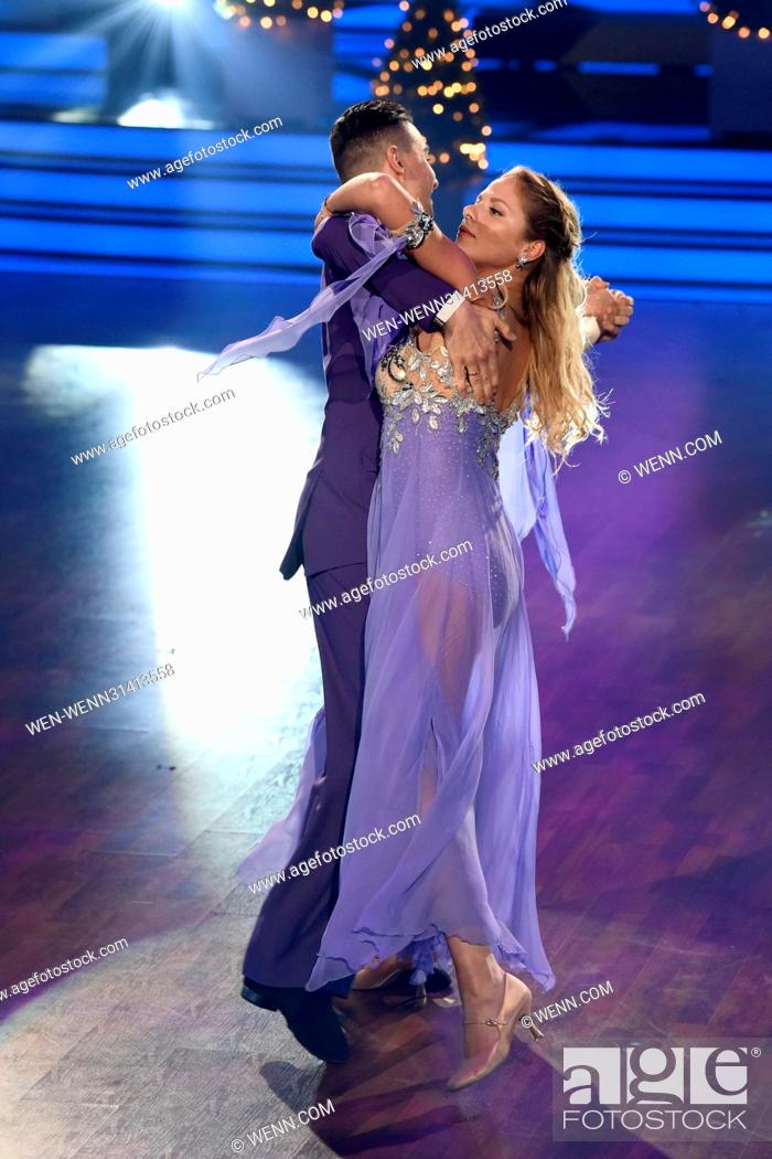 Stock Photo: German RTL Live TV Show 'Let's Dance' at MMC Studios. Featuring: Cheyenne Pahde, Andrzej Cibis Where: Cologne, Germany When: 05 May 2017 Credit: WENN.