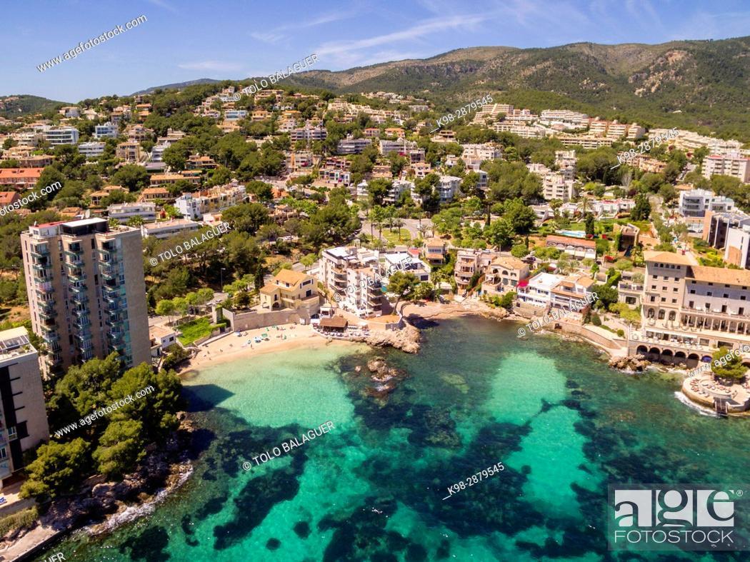 Stock Photo: Cas Catala, Cala Major, Palma, Mallorca, balearic islands, spain, europe.