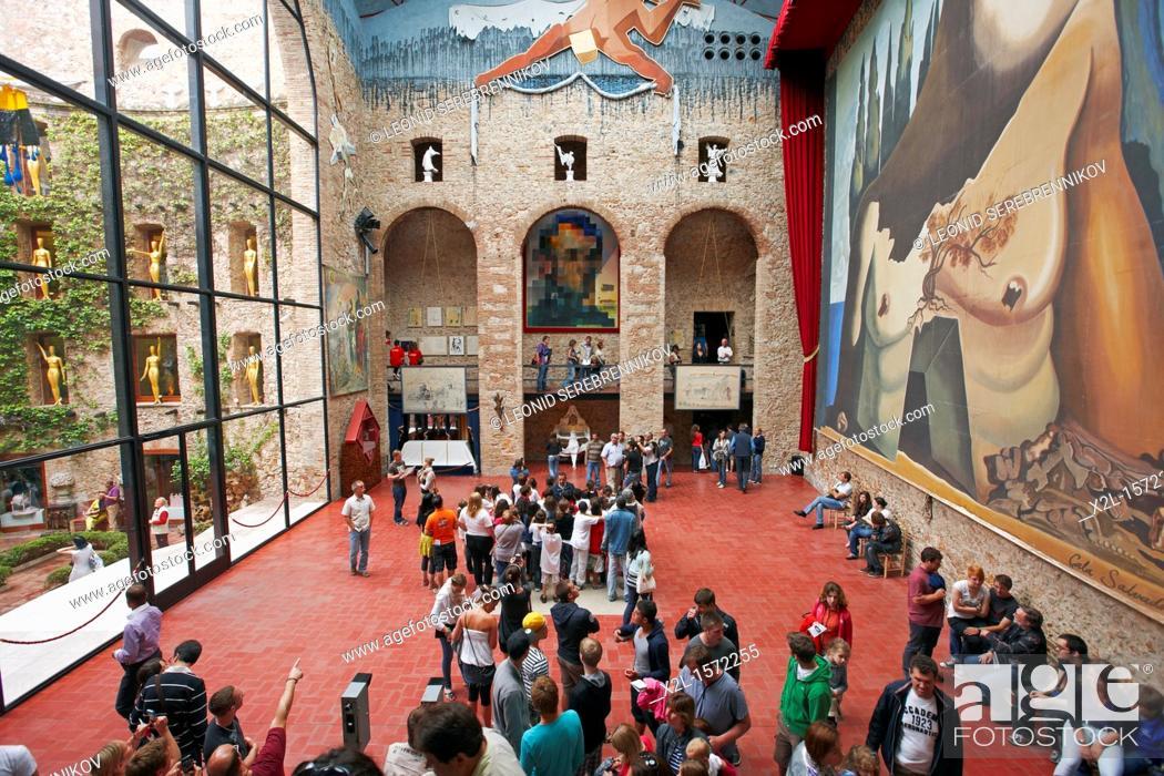 Stock Photo: Theatre-Museum of Salvador Dali  Figueres, Catalonia, Spain.
