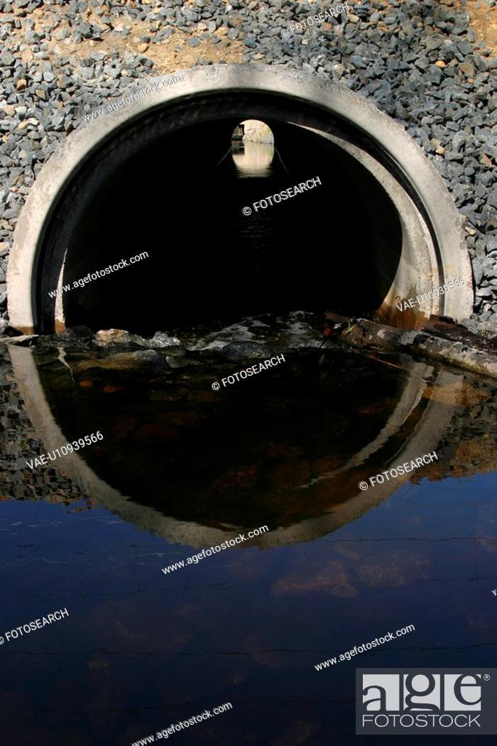 Stock Photo: polluted, Illinois, toxic, waste, sewage, conservation.