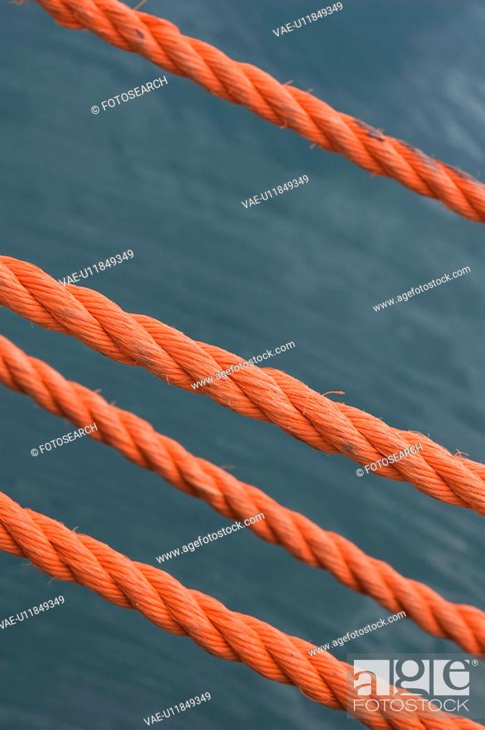 Stock Photo: Close-Up, Group Of Objects, In A Row, Nylon.