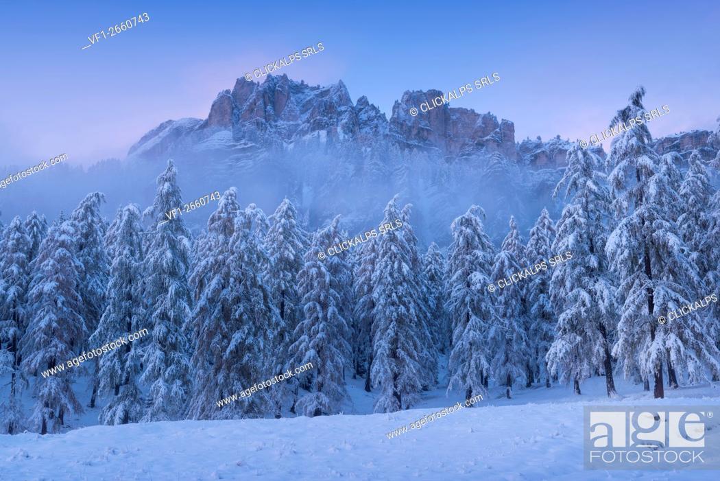 Photo de stock: Crepe de Zumeles, Cortina, Ampezzo, Dolomites, Alps, Veneto, Italy.