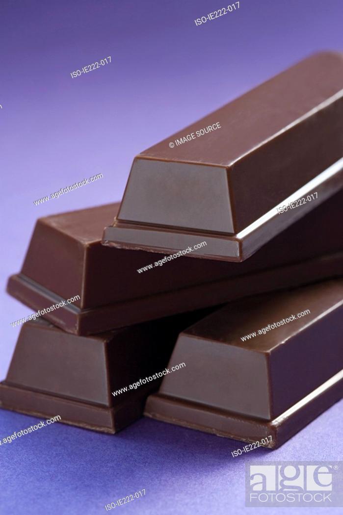 Stock Photo: Chocolate bar.