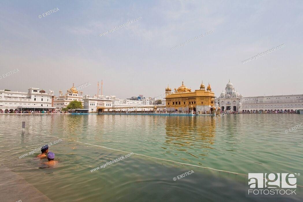 Stock Photo: Golden Temple, Amritsar, Punjab, India.