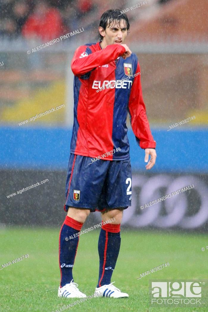 Diego Milito Genova 30 11 2008 Serie A Football Championship 2008 2009 Genoa Bologna 1 1 Stock Photo Picture And Rights Managed Image Pic Mar W382749 Agefotostock