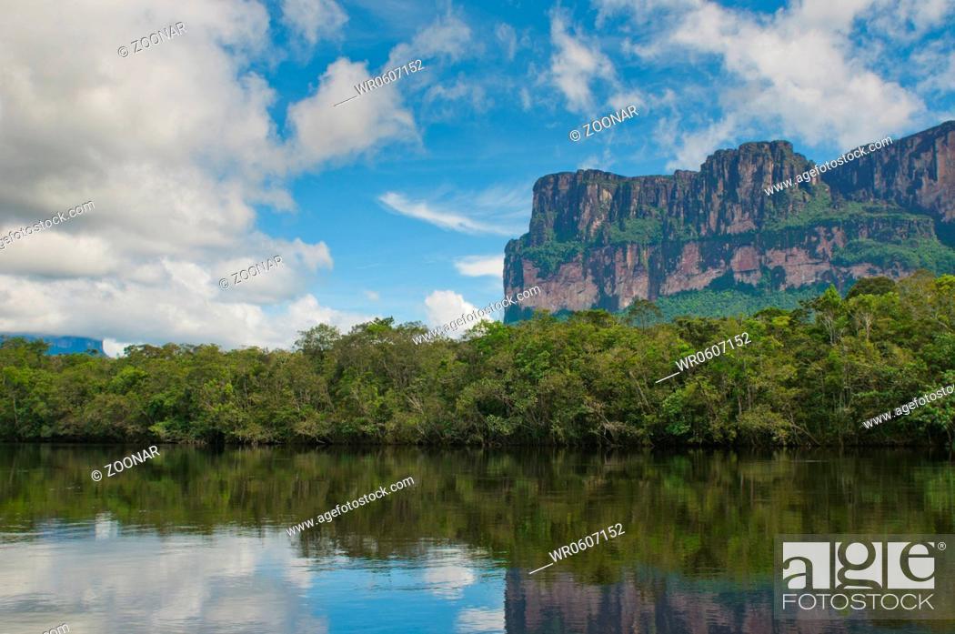 Stock Photo: Canaima National Park, Venezuela.
