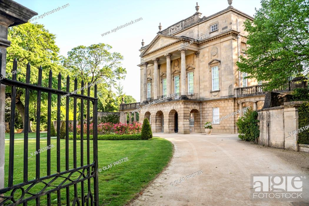 Stock Photo: The Holburne Museum in Bath, Somerset, England, UK.