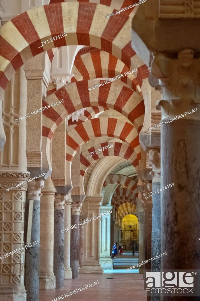 Stock Photo: Great Mosque-Cathedral of Cordoba (Spain).