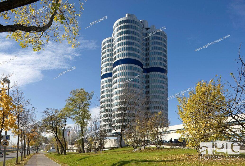 Imagen: München, BMW-Museum 1968-1972 von Karl Schwanzer.