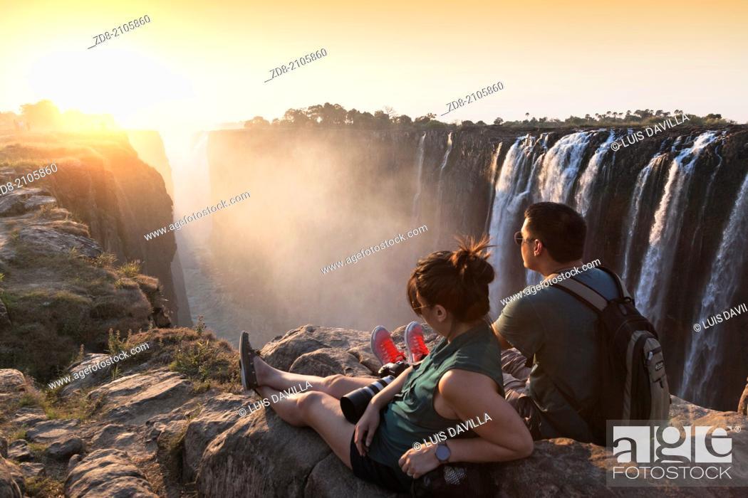 Imagen: Victoria Falls.