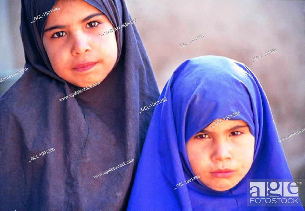 Stock Photo: Iranian girls.