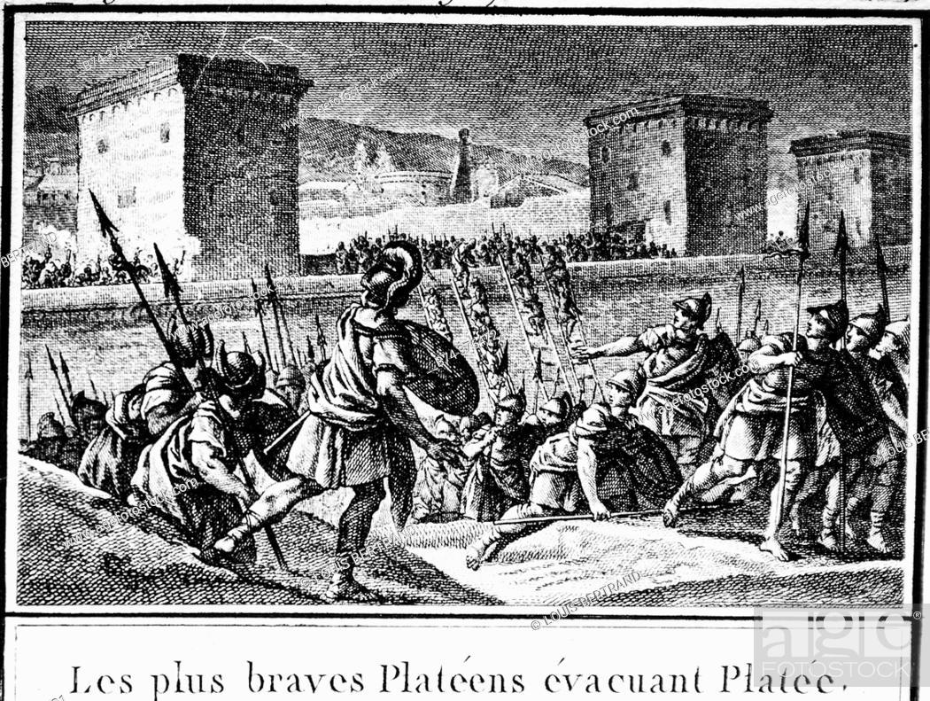 Stock Photo: Greek mythology, abbreviated editor of universal history 1850.