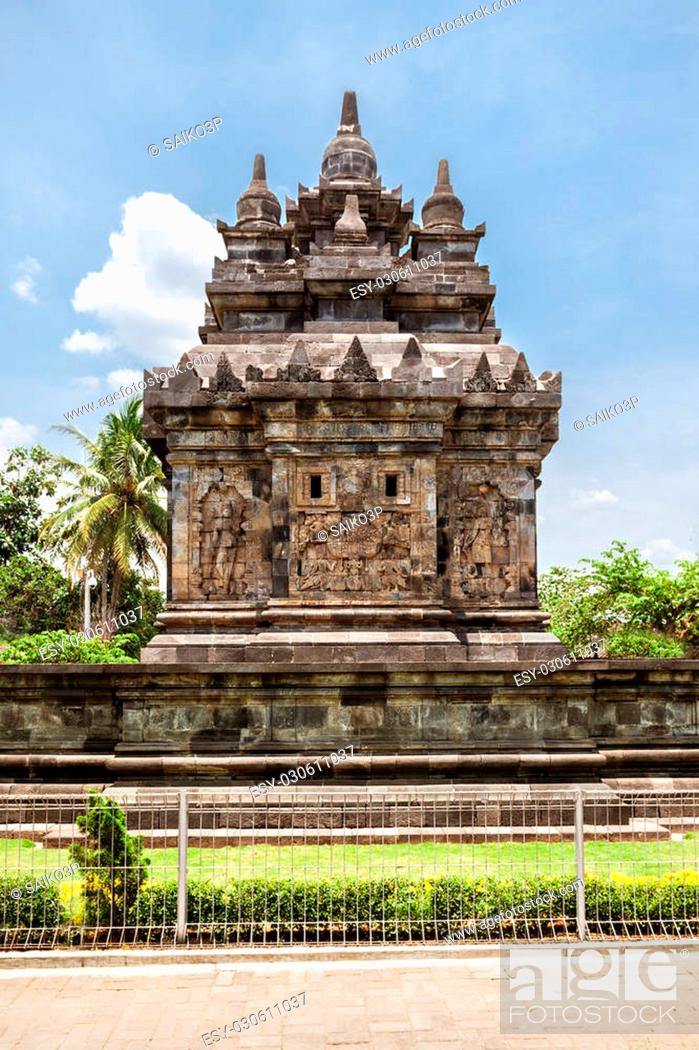 Stock Photo: Candi Pawon is a buddhist temple located near Borobudur temple in Central Java, Indonesia.