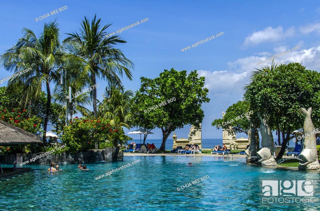 Discovery Kartika Plaza Hotel Villas Kuta Bali Indonesia Stock Photo Picture And Rights Managed Image Pic U37 3126757 Agefotostock