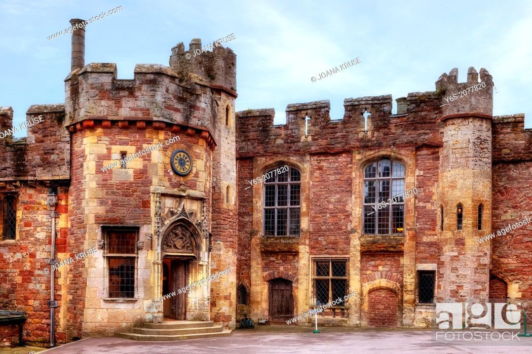 Berkeley Castle Gloucestershire England United Kingdom Stock