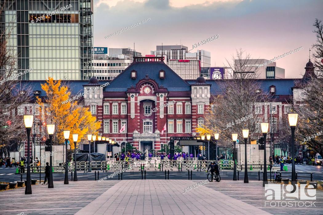Imagen: Japan, Tokyo City, Tokyo Station West Side.