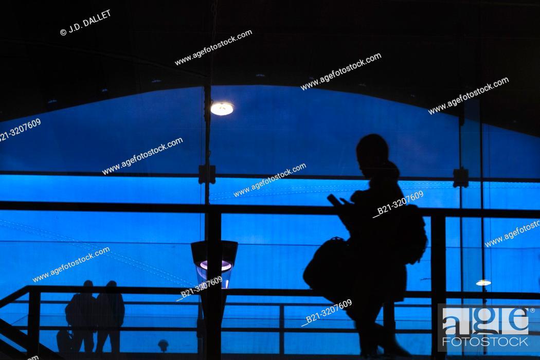 Stock Photo: France, Nouvelle Aquitaine, Gironde, airport of Bordeaux Merignec International.