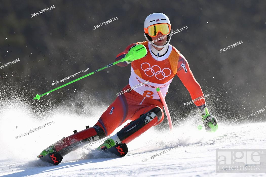 Sebastian Foss Solevaag Nor Aktion Alpine Skiing Mens S Slalom Stock Photo Picture And Rights Managed Image Pic Pah 99990344 Agefotostock