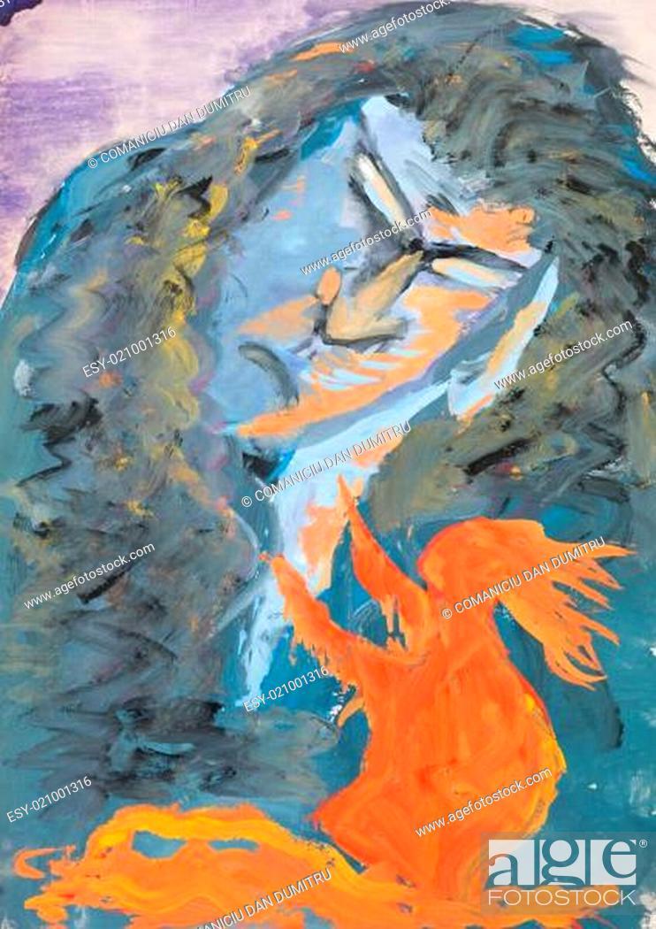 Imagen: watercolor painting.