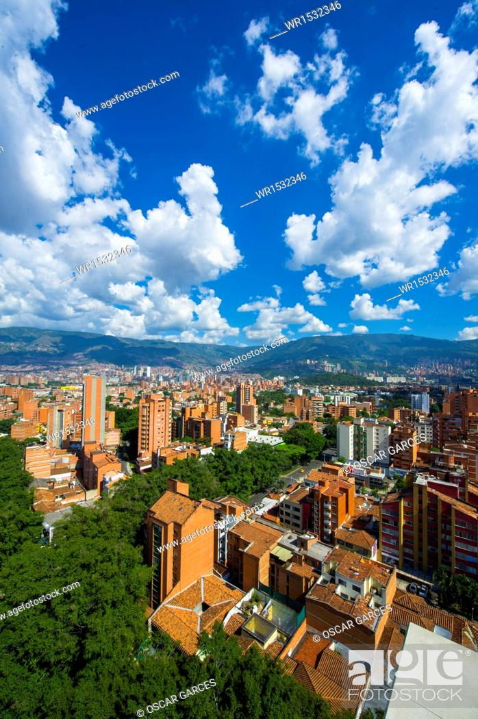 Imagen: Panoramic of the City of Medellin, Antioquia, Colombia.