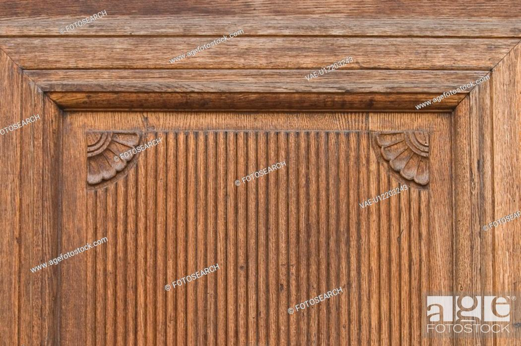 Stock Photo: figure, carved, detail, ornate, statue, structure.